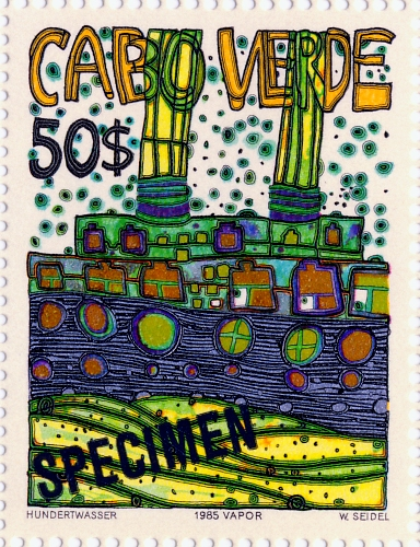 hundertwasser stamp resource  specimens