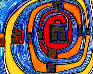 Hundertwasser's 80th Birthday